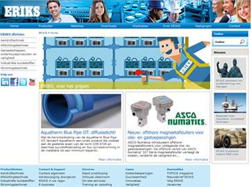 Optimale Vindbaarheid voor Assortiment ERIKS Nederland
