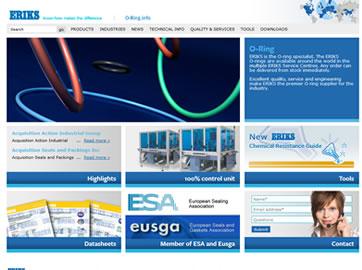 O-Ring.info: Lead Generating Productwebsites voor ERIKS groep