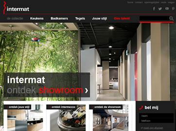 Website Ontwikkeling voor Intermat uit Mijdrecht