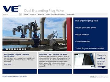Lead Generating Website voor Fabrikant van Afsluiters Valves Entreprise