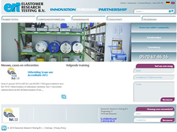 Website Ontwikkeling voor ERT uit Deventer